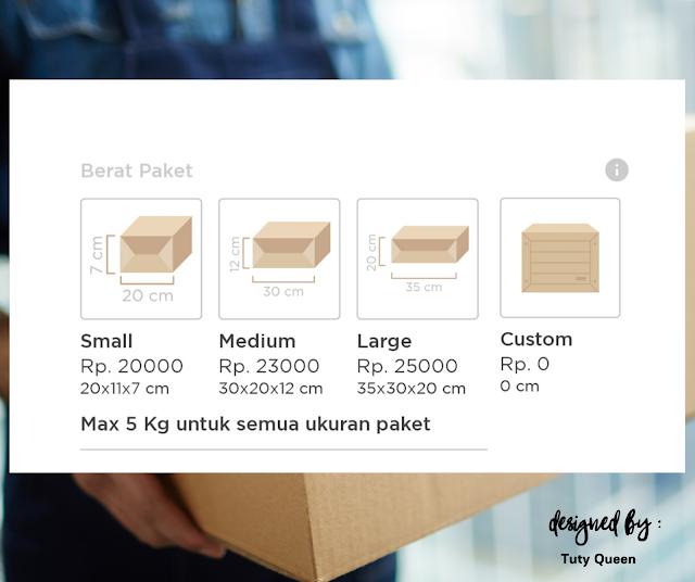 Ukuran Paket di Paxel