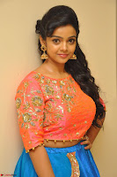 Nithya Shetty in Orange Choli at Kalamandir Foundation 7th anniversary Celebrations ~  Actress Galleries 030.JPG
