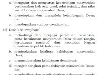 Hak dan Kewajiban Desa dan Masyarakat Desa Menurut UU Desa Nomor 6 Tahun 2014