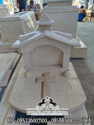 Model Nisan Istana Marmer, Model Makam Kristen Minimalis, Batu Nisan Kristen Marmer