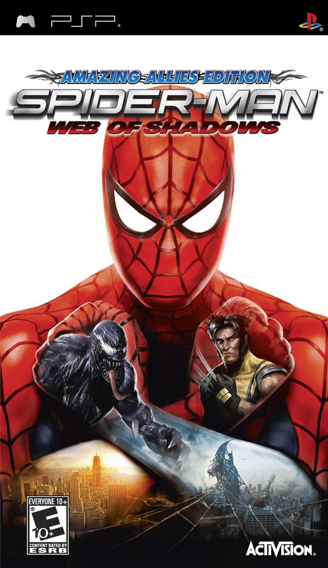 ROMs - Spiderman - Web of Shadows - PSP - PSP Download