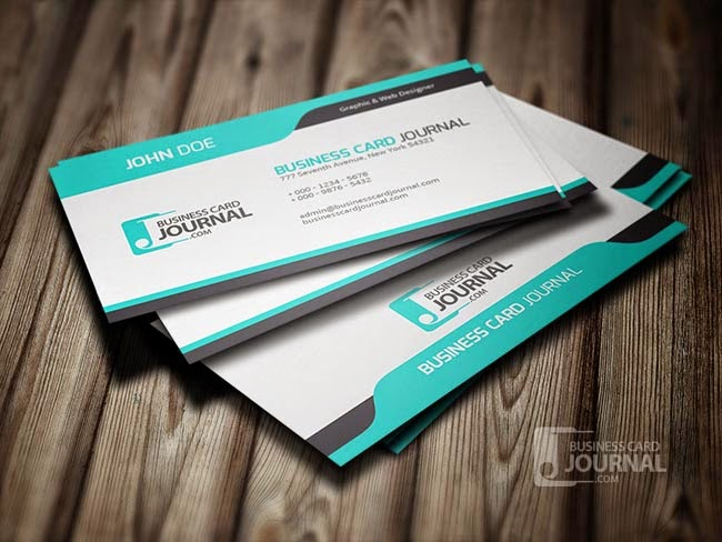 20 best free business cards psd design of 2015 templateism blog 17 cool blue creative business card template colourmoves