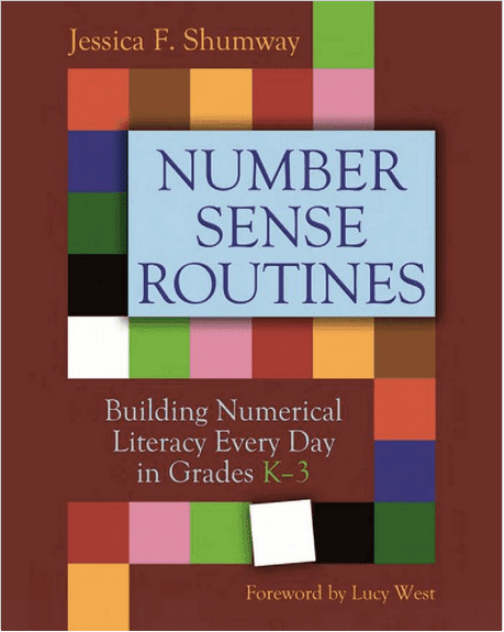 Number Sense Routines: You'll Love This Book! Grab this free set of number grids recommended by Jessica Shumway plus a free set of number cards.