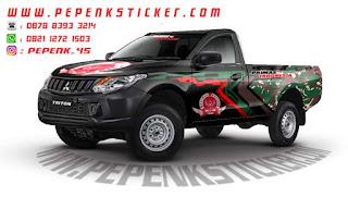 Mobil,Mitsubishi,Triton,Decal,Cutting Sticker,Cutting Sticker Bekasi,jakarta,Bekasi,Toyota Hilux,Mitsubishi strada Triton.