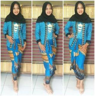 rok span untuk batik