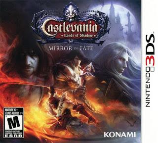 Portada del cartucho de 3ds Castlevania: Lords of Shadow - Mirror of Fate (2013)