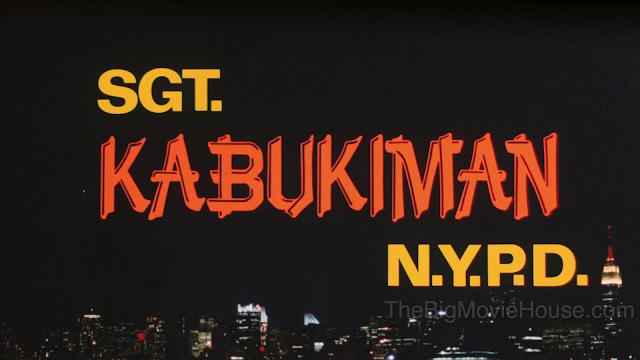 SGT. Kabukiman N.Y.P.D. Title Card