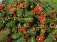 Resep Sambal Kacang Panjang
