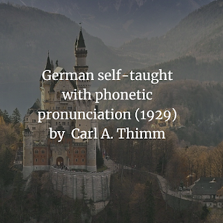German self-taught with phonetic pronunciation