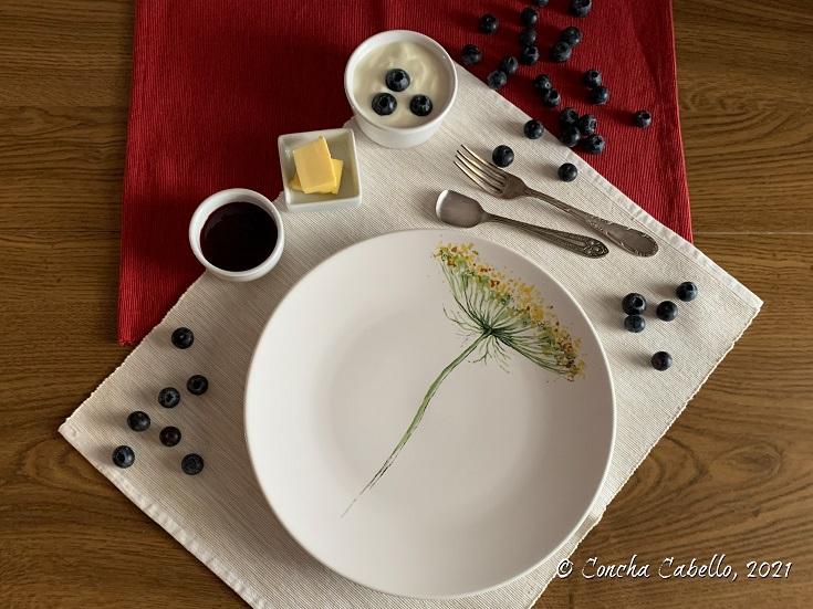 plato-flor