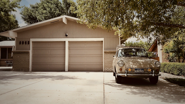 garaging address