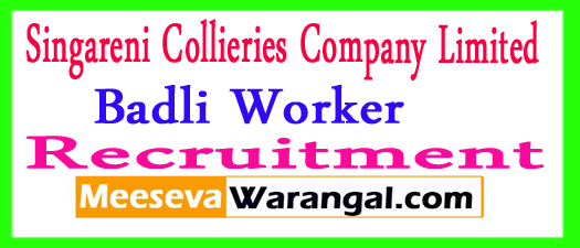SCCL Recruitment 2017 Apply Online scclmines.com