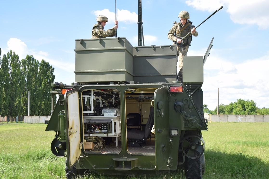 Командно-штабна машина К-1450-02 на базі БТР-4Е