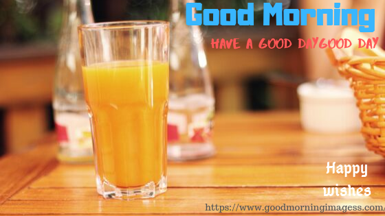 Good morning images with nice Juice