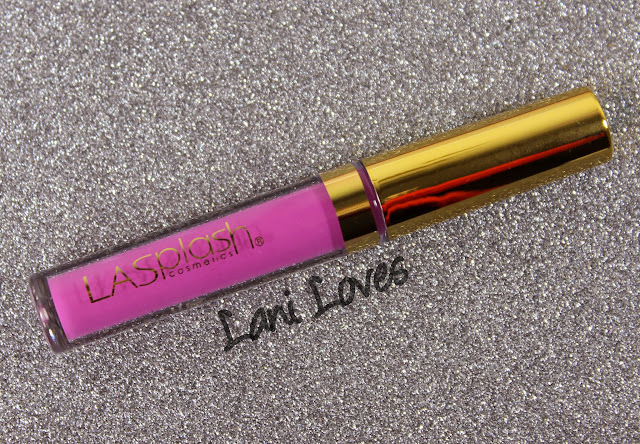 LA Splash Lip Couture - Hidden Desires Swatches & Review