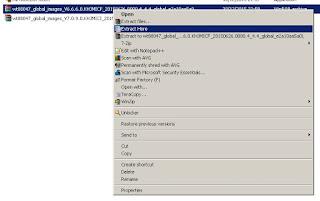 Extract file TGZ yang berisi firmware Xiaomi