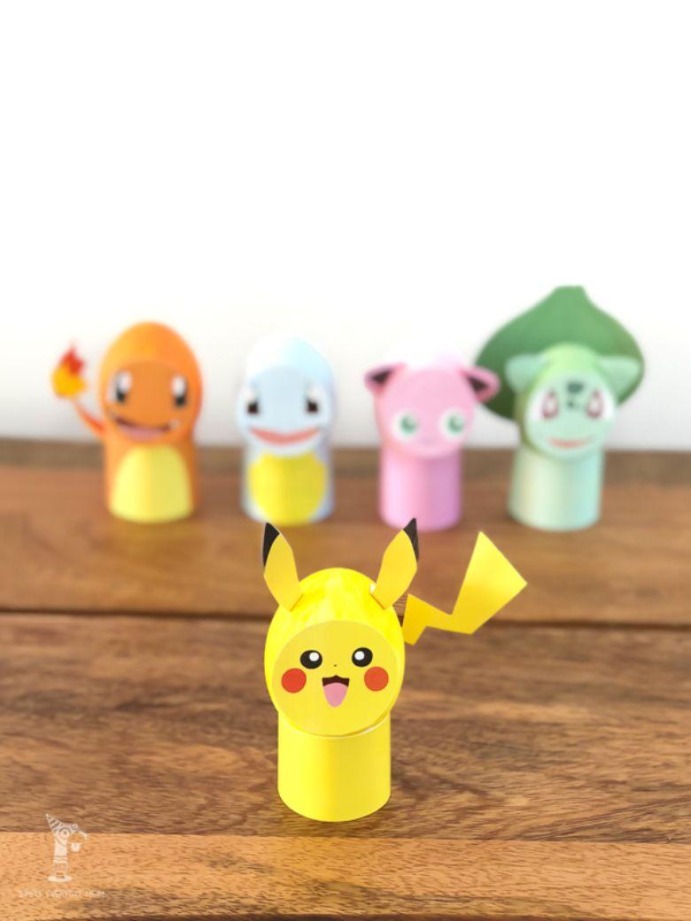 Easter egg decorating ideas - Pokemon Eggs