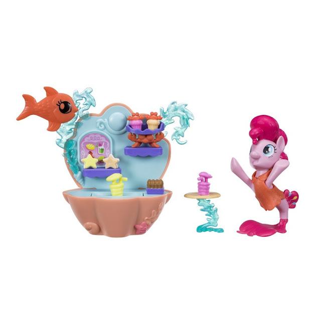 My Little Pony The Movie- Undersea Cafe Pinkie Pie Set