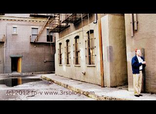 Warner Bros. studio back lot--alley
