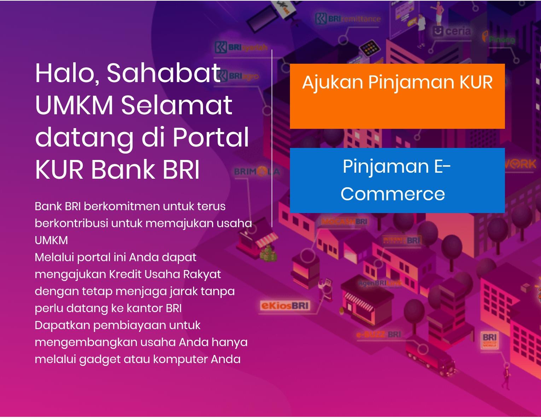 Persyaratan Pengajuan KUR Mikro BRI melalui Platform kur.bri.co.id