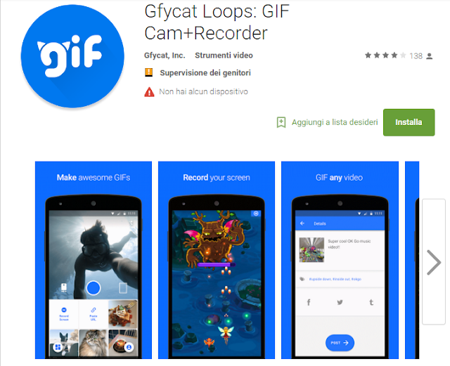 Gfycat Loops: GIF Cam+Recorder screen-shot