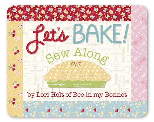 Let's Bake Sew Along - Week Eight!!