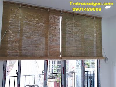 Mành trúc cật tre nắng nội thất