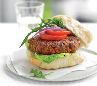 beef and pepper burgers recipe