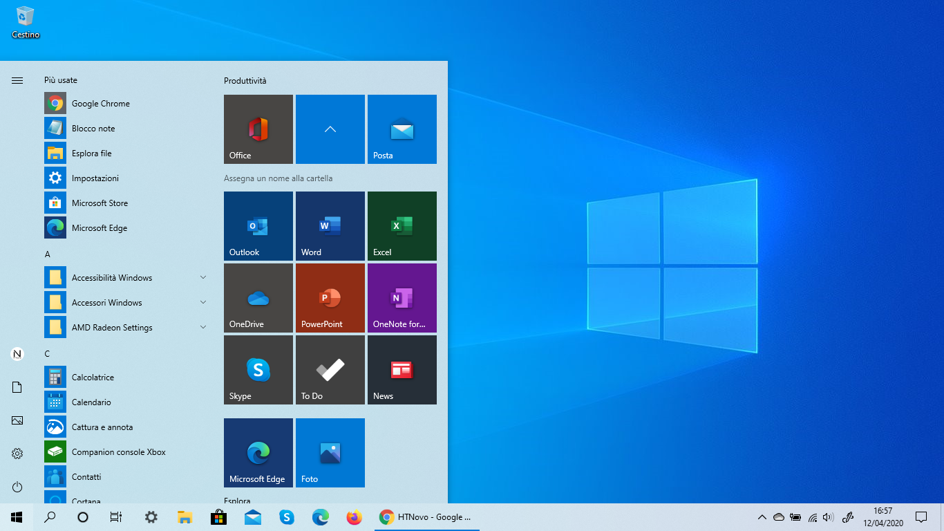 Microsoft è al lavoro per implementare presto il nuovo menu Start di Windows 10