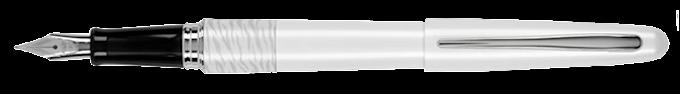 Pilot White Tiger Design Body Fountain Pen (PILOT MR Animal Collection Fountain Pen): Anatomy & Details Review.