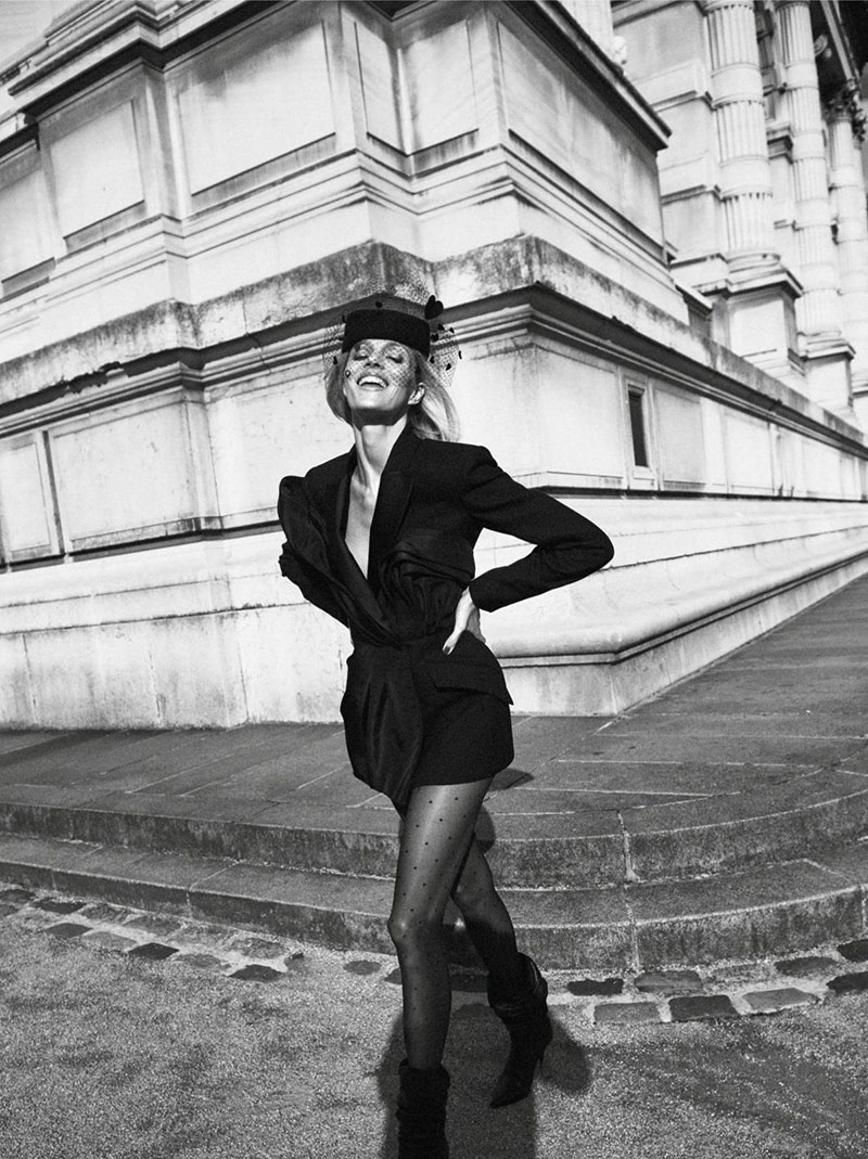 Fashion Editorial: Anja Rubik by Lachlan Bailey for Vogue Paris May 2019