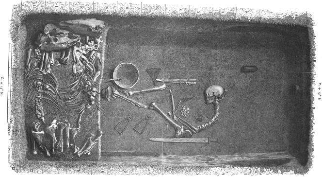 La célèbre tombe d'un guerrier Viking était celui d'une guerrière