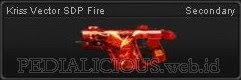 Kriss Vector SDP Fire