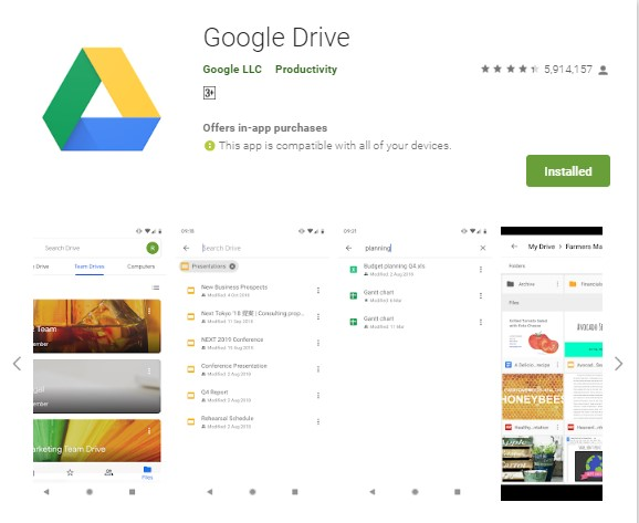 Top 8 Android Apps Get it now for free Google Drive