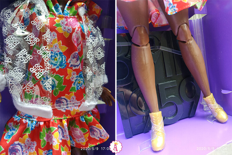 Одежда Барби африканки BMR 1959