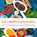 8 Herbs & Spices With The Most Powerful Health Benefits