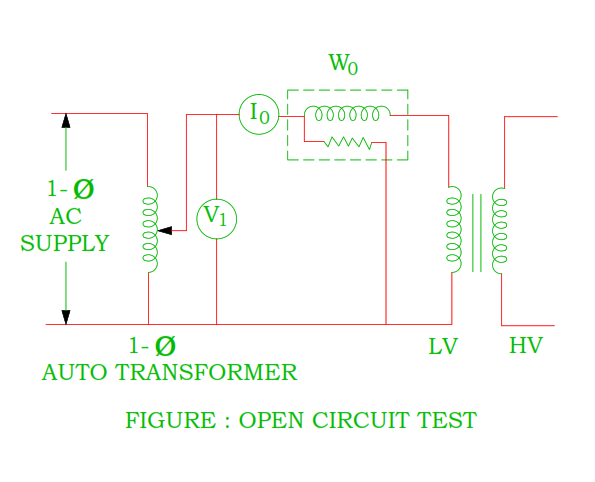 to-perform-open-circuit-test-on-transformer