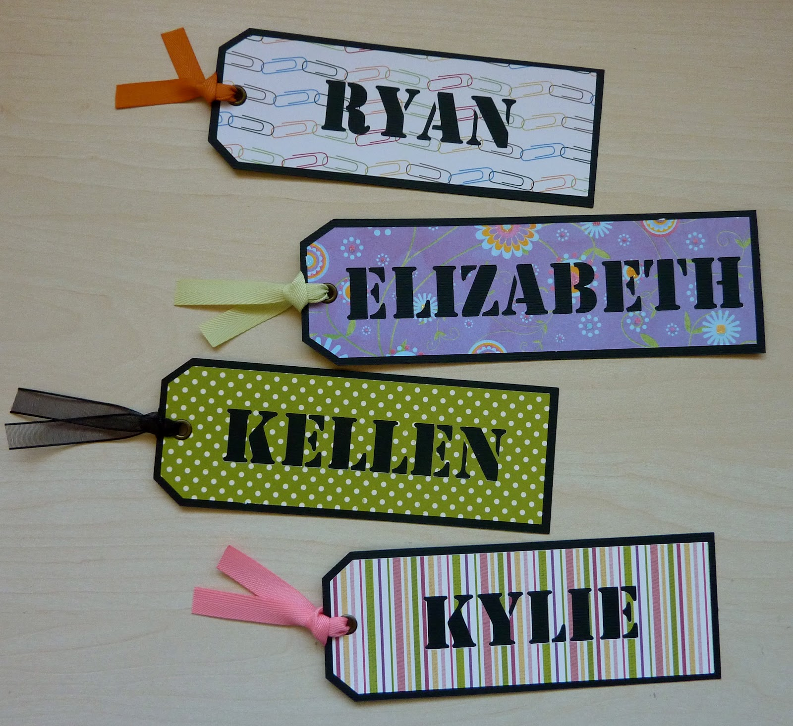 personalized bookmarks for students arts arts