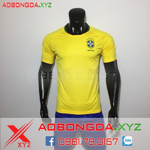 Áo Đội Tuyển Brazil 2019 Sân Nhà