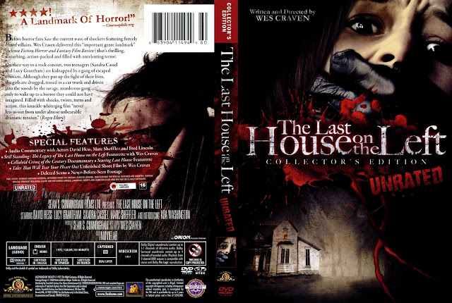 The Last House on the Left (1972) DVD Cover