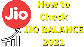 [Working] How to check Jio Balance in 2021