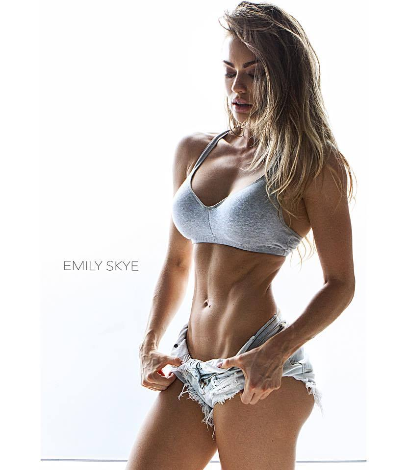 ECO GLAMAZINE: FIT GIRL: Emily Skye