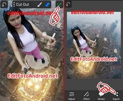 Tutorial Edit Foto Di Atas Gedung Tinggi Mudah