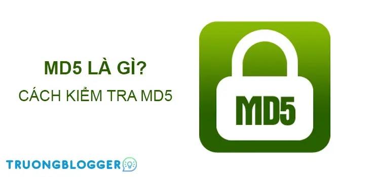 Hướng dẫn check MD5 để kiểm tra tính toàn vẹn của tập tin