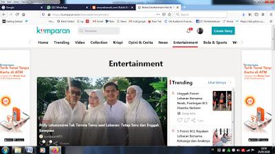 kumparan Indonesia entertainment