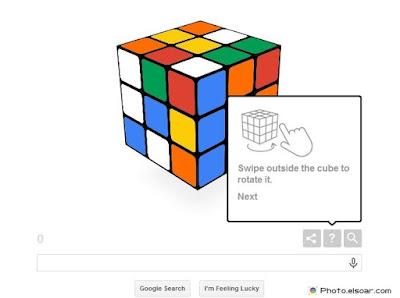 Rubik's cube at Google doole