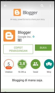 Cara Ngeblog dengan Smartphone Android