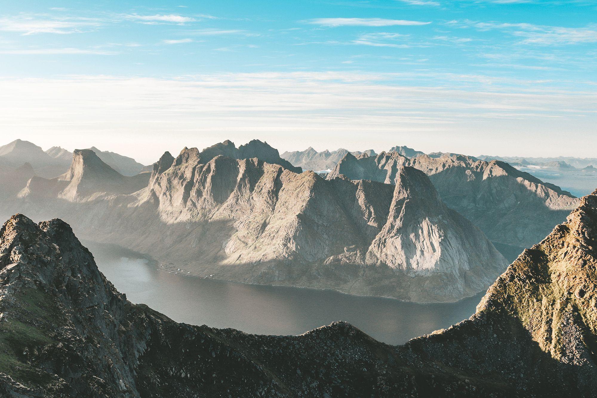 Вершина Мюнкен в Норвегии