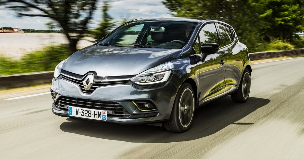 renault drops more images of the updated clio. Black Bedroom Furniture Sets. Home Design Ideas