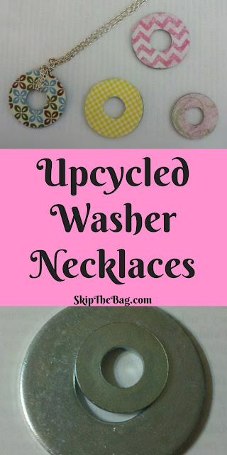 DIY Upcycled Washer Necklaces